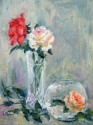 Painting - Roses by Jill Musser