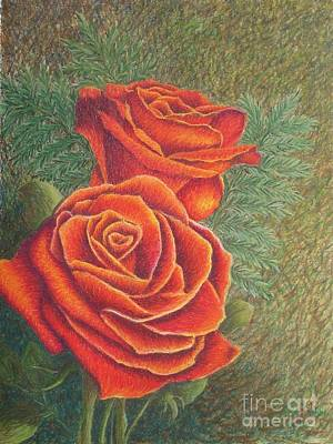 Painting - Roses by Lisa Bliss Rush