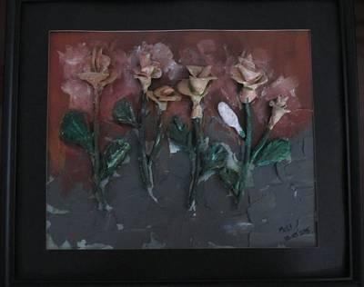 Roses - Mural Finish Original