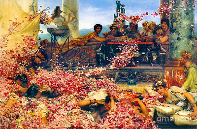 Realism Photograph - Roses Of Heliogabalus 1888 by Padre Art