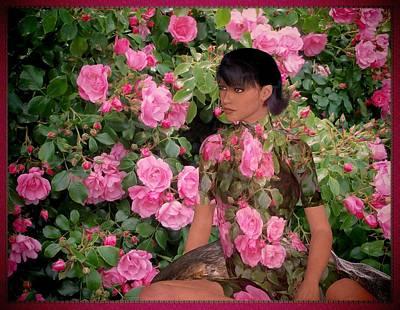 Digital Art - Roses, Roses by Nancy Pauling