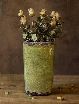 Still Life Photograph - Roses - Still Life by David Heger