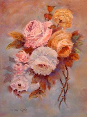 Painting - Roses Study by Loretta Luglio