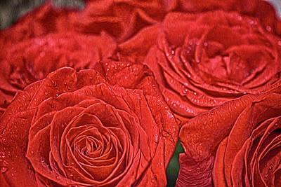 Painting - Roses by Tatiana Tyumeneva