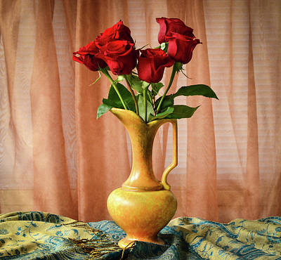 Wall Art - Photograph - Roses by Wendy Blomseth