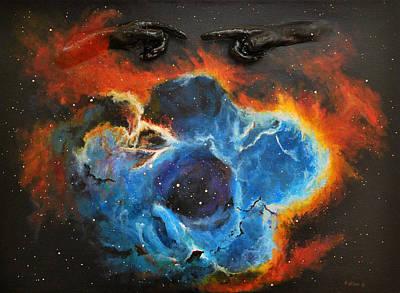 Rosetta Nebula Art Print