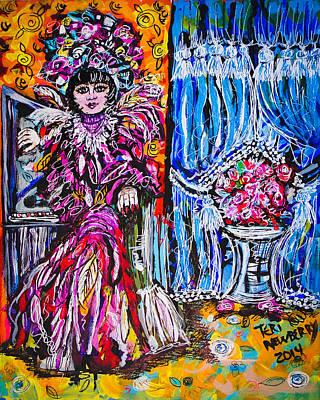 Rosette Galvez Art Print by Teri Newberry