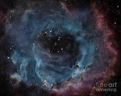 Rosette Nebula - Caldwell 49 Art Print