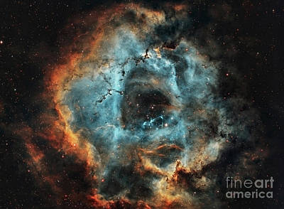 Digital Art - Rosette Nebula by Mohamed Elkhamisy