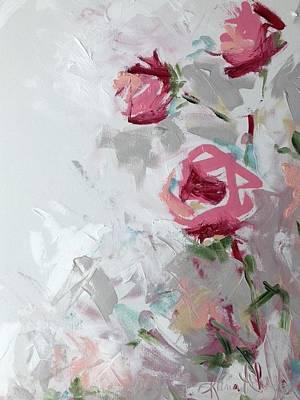 Painting - Rosey Rose by Karen Ahuja