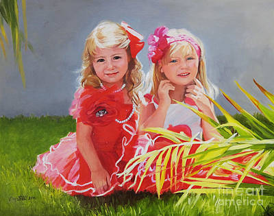 Painting - Rosie And Jaz by Kathryn Donatelli