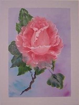 Lisa Rodriguez Painting - Rosie Rose by Lisa Rodriguez
