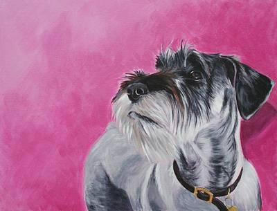 Rosie Art Print by Wendy Whiteside