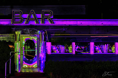 Wall Art - Photograph - Rosie's Diner Bar by J Thomas