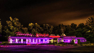 Wall Art - Photograph - Rosie's Diner by J Thomas