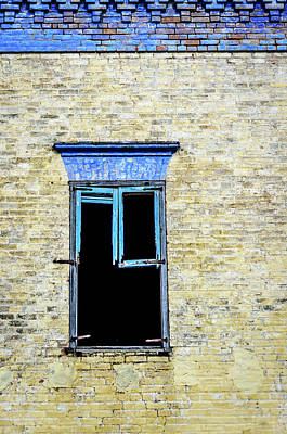 Photograph - Rosita's Window - Roma Texas by Debra Martz