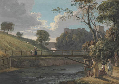 Painting - Roslin Castle, Midlothian by Paul Sandby