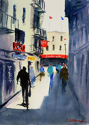 Painting - Ross Alley7 by Tom Simmons