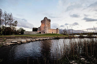 Photograph - Ross Castle At Sunset by Scott Pellegrin