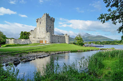 Photograph - Ross Castle by Joe Ormonde