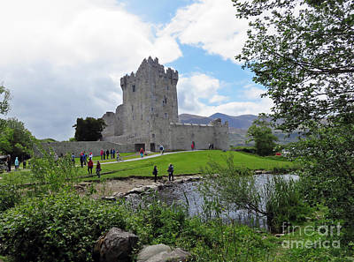 Photograph - Ross Castle Killarney Ireland by Cindy Murphy - NightVisions