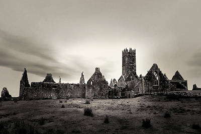 Photograph - Ross Errilly Friary by Menega Sabidussi