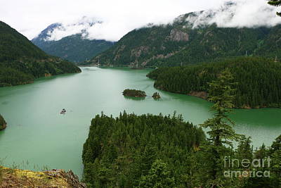 Photograph - Ross Lake View by Christiane Schulze Art And Photography