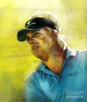 Painting - Ross Mcgowan In The Madrid Masters by Miki De Goodaboom