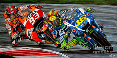 Rossi Vs Marquez Original