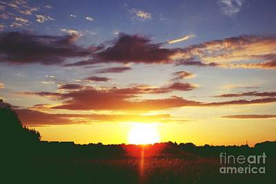 Photograph - Rossington Sunset 2 by John Bailey Photos