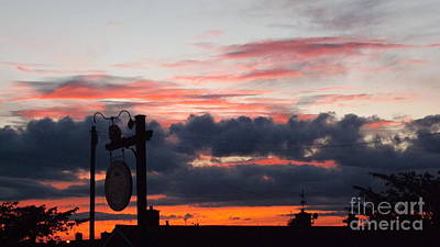 Rossington Sunset Art Print