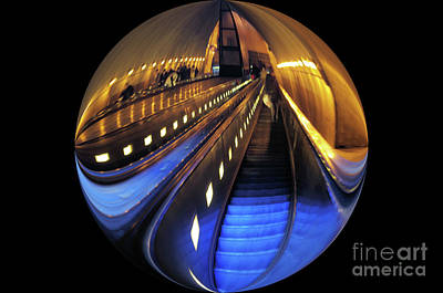 Photograph - Rosslyn Metro Station by John S