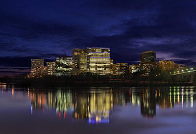 Rosslyn Skyline Art Print