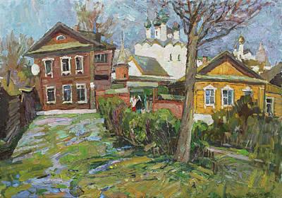 Painting - Rostov Yards by Juliya Zhukova