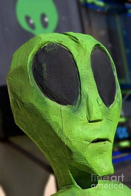 Photograph - Roswell Alien by Bob Pardue