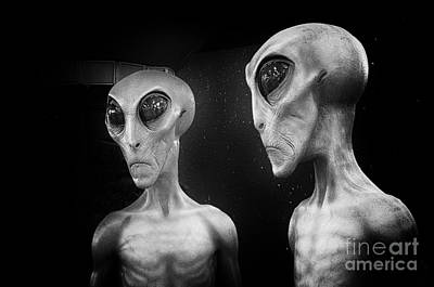 Photograph - Aliens And Ufo 4 by Bob Christopher