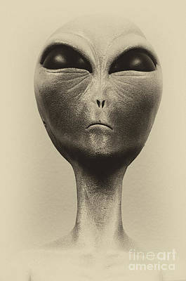 Photograph - Aliens And Ufo 2 by Bob Christopher