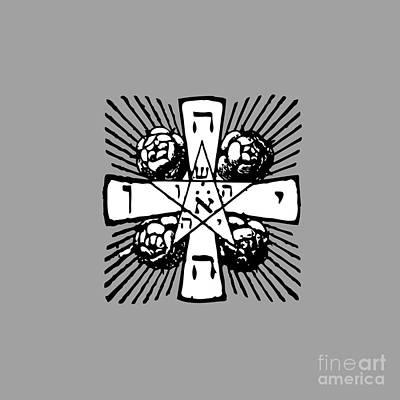 Kitchen Mark Rogan - Rosy Cross-Tetragrammaton by Frederick Holiday