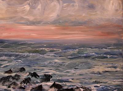 Painting - Rosy Dawn by Michael Helfen