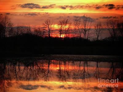 Photograph - Rosy Mist Sunrise by Scott B Bennett