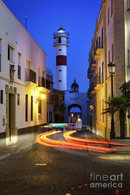 Photograph - Rota Lighthouse Cadiz Spain by Pablo Avanzini