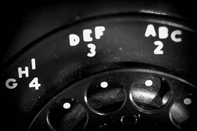Photograph - Rotary Dial by Joseph Skompski