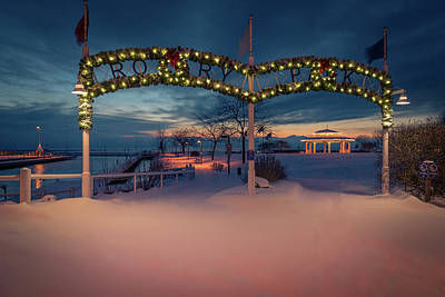 Photograph - Rotary Park Christmas by James Meyer