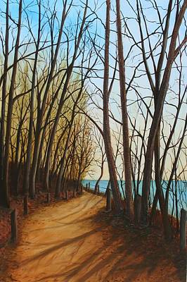 Painting - Rotary Path by Sharon Steinhaus