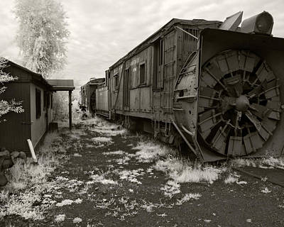 Photograph - Rotary Snowplow by Mike McMurray