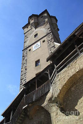 Photograph - Rothenburg 13 by Randall Weidner