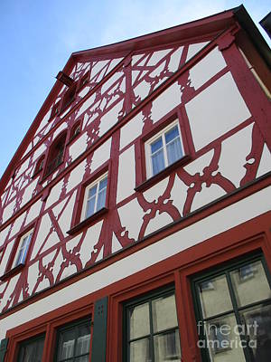 Photograph - Rothenburg 14 by Randall Weidner