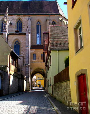 Photograph - Rothenburg 16 by Randall Weidner