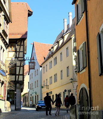 Photograph - Rothenburg 18 by Randall Weidner