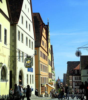 Photograph - Rothenburg 20 by Randall Weidner